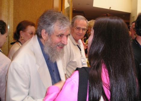 Katherine with Claudio Naranjo
